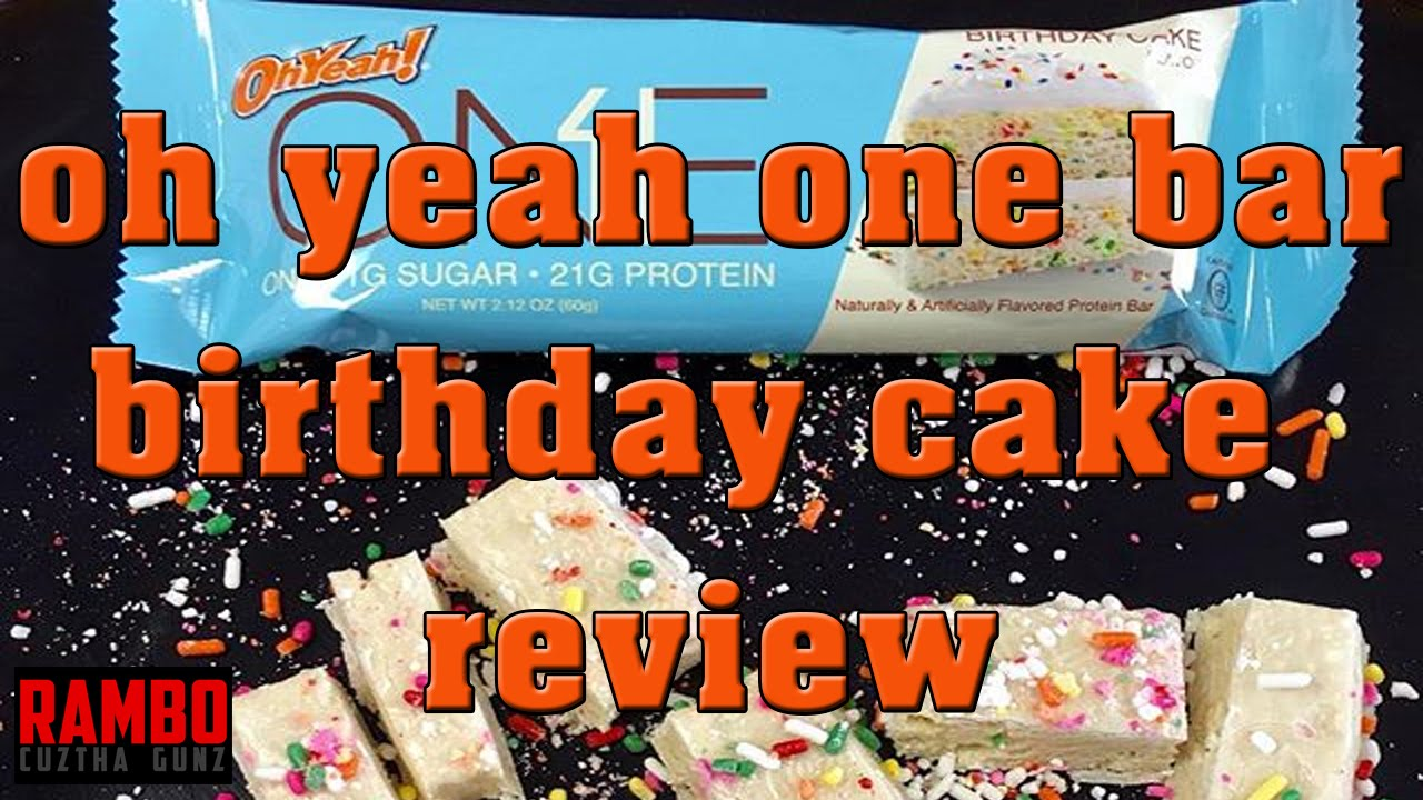 Oh Yeah One Bar Birthday Cake Review