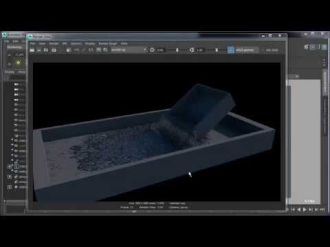 Bifrost Alembic meshing and rendering pipeline