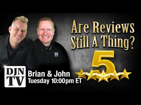 Are Reviews Still A Thing? The Brian S Redd and John Young Show on #DJNTV