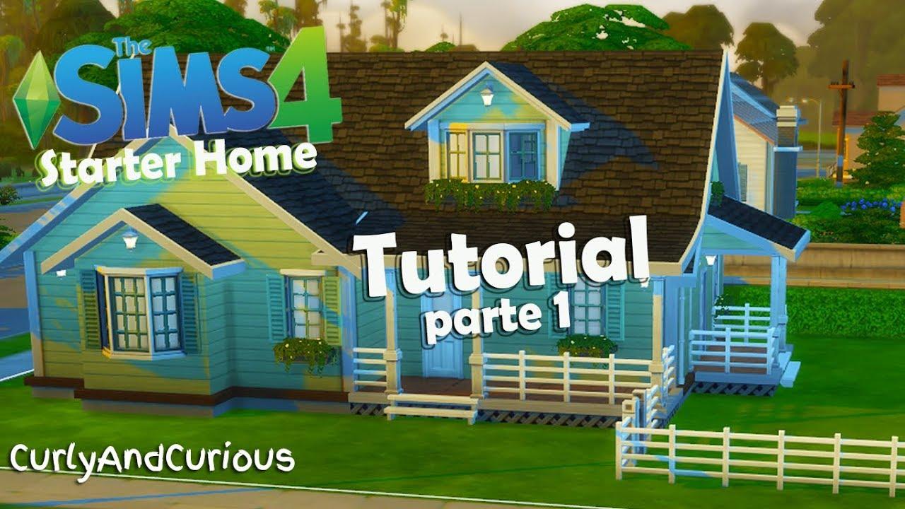 The Sims 4 Come Costruire Una Casa Parte 1 Youtube