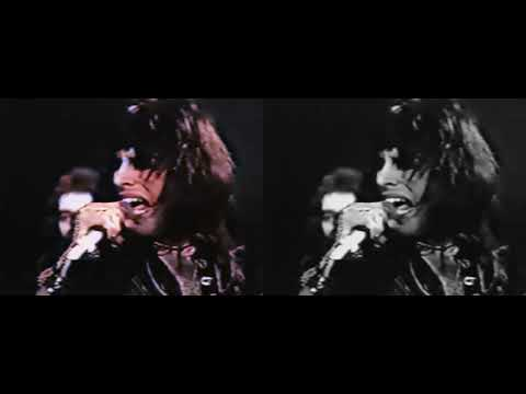 Queen - Seven Seas Of Rhye (TOTP First Appearance) Best Source Merge Colourized Comparison