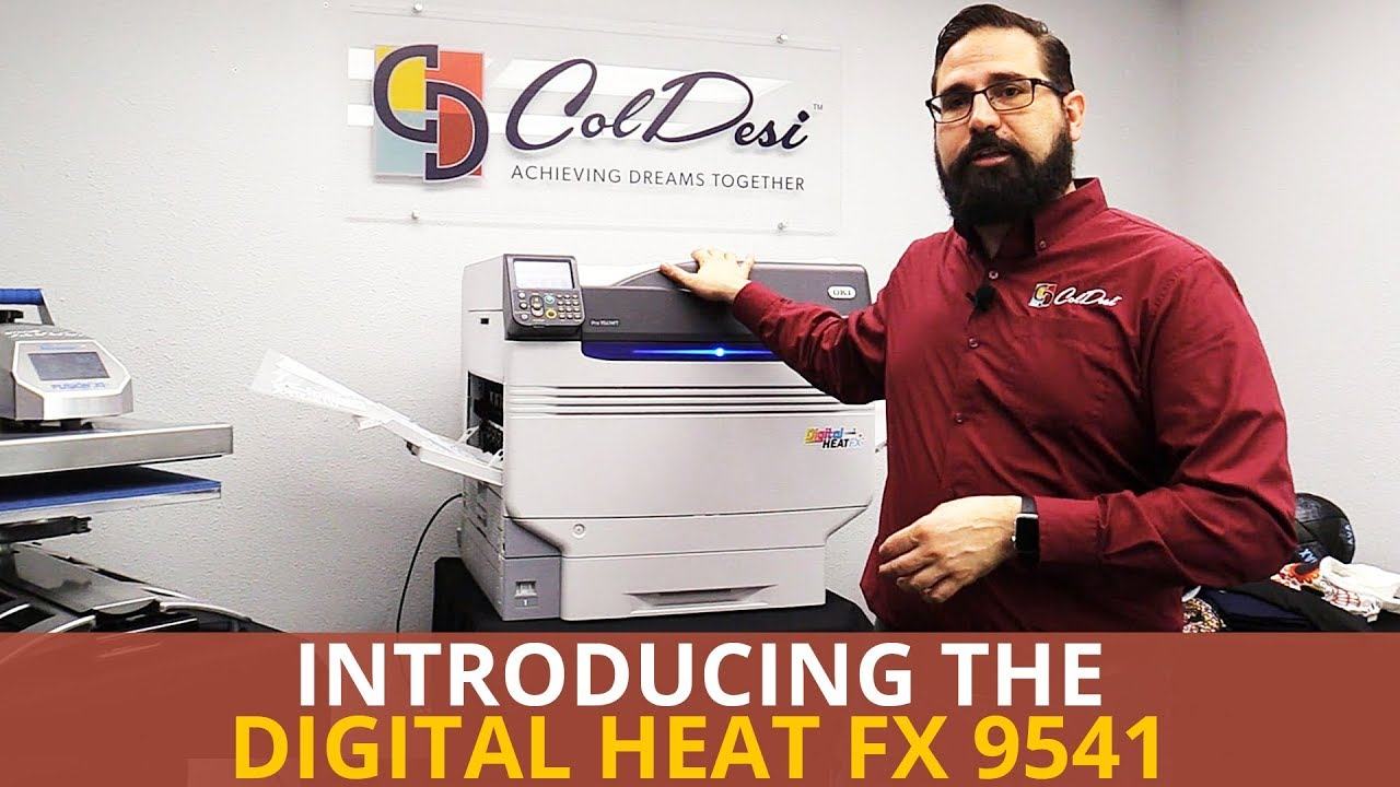 9f3d9400 Introducing the Digital HeatFX 9541 | The Best Transfer Printer EVER [New  paper time & temps]