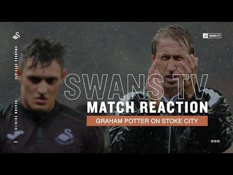 Match Reaction: Graham Potter on Stoke defeat