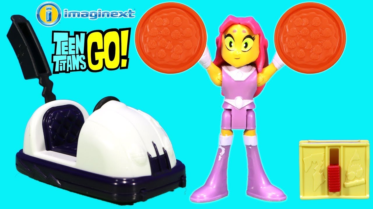 New Imaginext Starfire Teen Titans Go Pizza Party Contest -1828