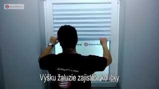 Montáž papírové žaluzie - ZaluzieWeb.cz