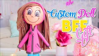 Crafts To Do when you are BORED perfect gift ideas for best friends custom doll