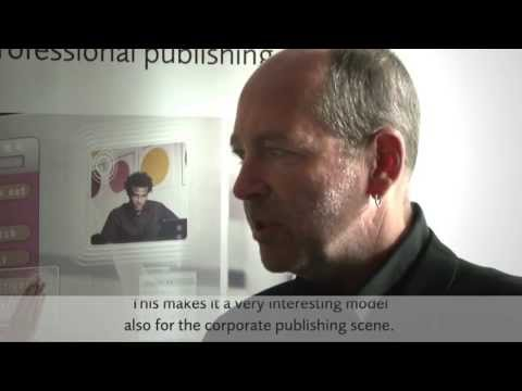 Interview with Lukas Huggenberg - vjoon K4 for corporate publishing (German with English subtitles)
