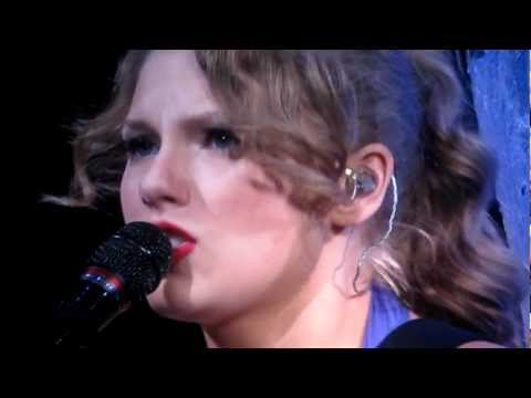 Taylor Swift Speak Now Tour Nashville Cover