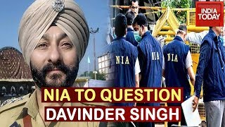 NIA Team To Interrogate Suspended J&K DSP Davinder Singh In Srinagar