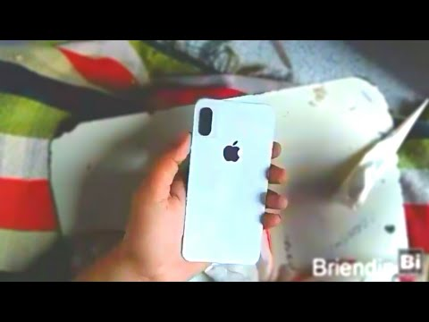 How to make a Apple Iphone out of cardboard | DIY CARDBOARD IPHONE X | HOW TO MAKE | Bi