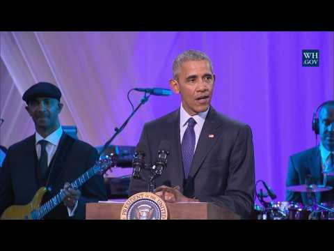 "President Obama Speaks at BET's ""Love..."