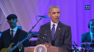"President Obama Speaks at BET's ""Love and Happiness: A Musical Experience"""