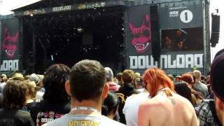 Puddle of Mudd - Control (War Pigs Riff) Live Download Festival 2011