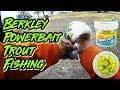 Berkley Powerbait Trout Fishing