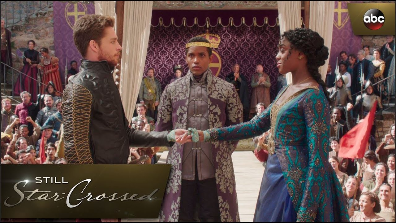 Download Rosaline and Benvolio's Betroyal Ceremony Interrupted - Still Star-Crossed 1x3