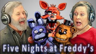 ELDERS REACT TO FIVE NIGHTS AT FREDDY
