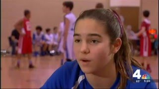 12 Year Old Hoops Star Inspires With Prosthetic Leg