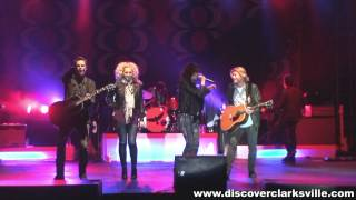 Little Big Town plays in Clarksville Tennessee
