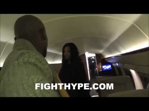 WELCOME ABOARD AIR MAYWEATHER: FLOYD MAYWEATHER'S PRIVATE JET