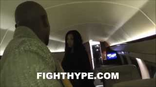 WELCOME ABOARD AIR MAYWEATHER: FLOYD MAYWEATHER