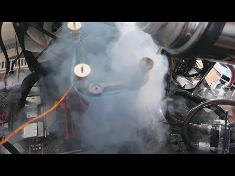 Overclocking Core I9 9980XE To 5.7GHz On Liquid Nitrogen