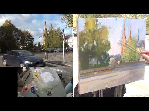 José SALVAGGIO plein air painting 56 I remember