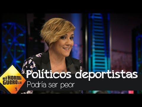 Cristina Pardo destapa la faceta más deportista de los políticos españoles - El Hormiguero 3.0