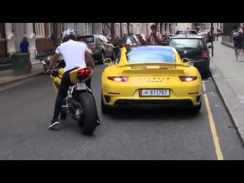 Yellow Ducati 1199 Panigale W Termignoni Exhaust Youtube