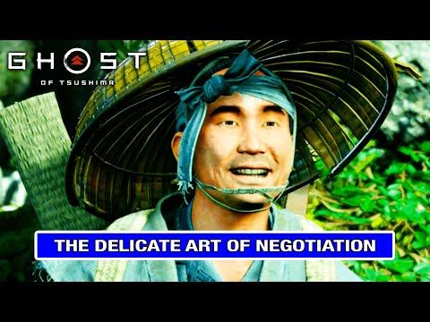 THE DELICATE ART OF NEGOTIATION Walkthrough - Ghost of Tsushima [DELICATE ART OF NEGOTIATION]