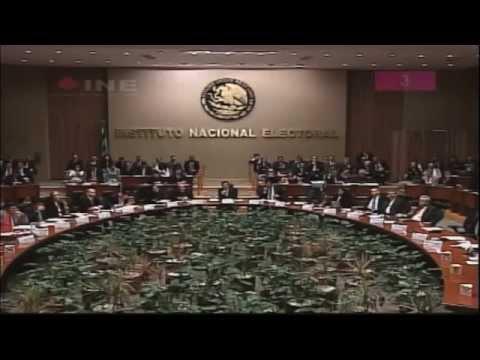 Sesión extraordinaria del Consejo General del Instituto Nacional Electoral