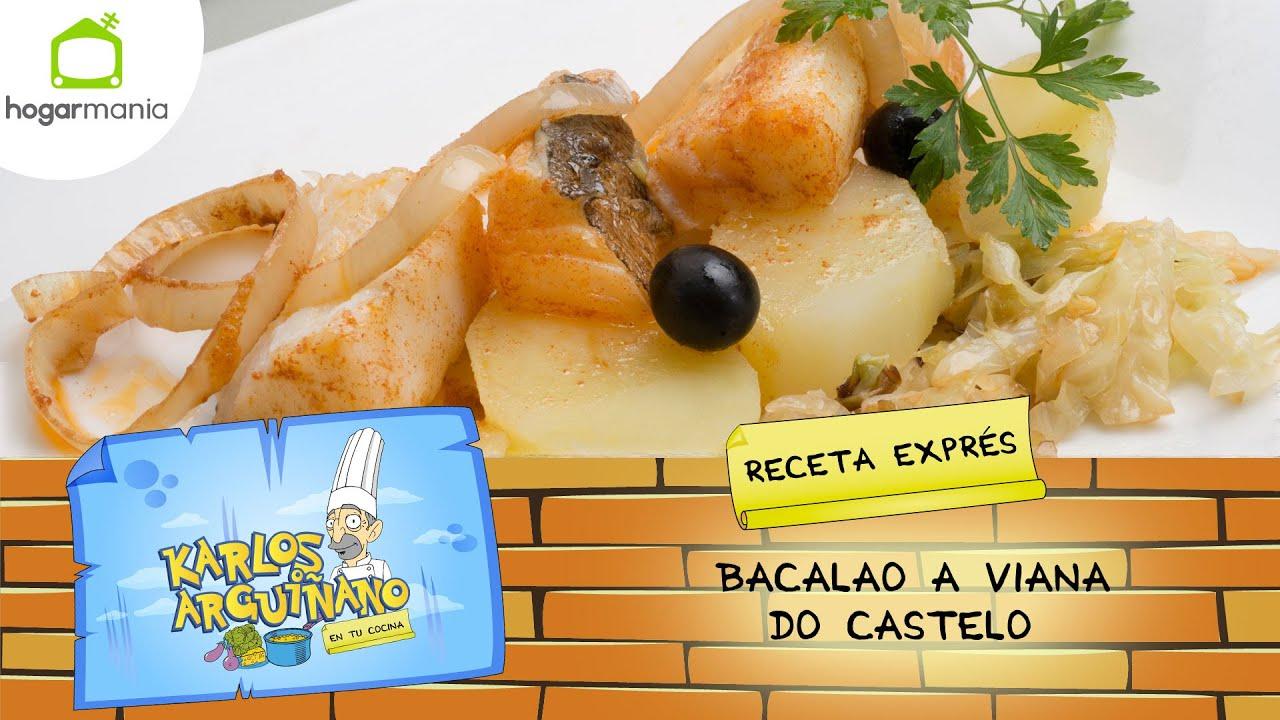 Recetas Cocina Karlos Arguiñano | Karlos Arguinano Receta De Bacalao A Viana Do Castelo Youtube