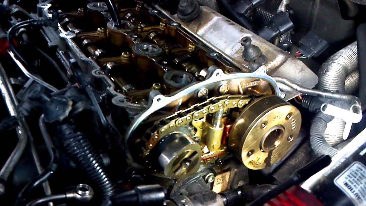 Audi/VW 2.0L T Cam chain issues - YouTube