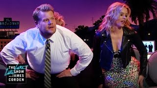 Elizabeth Banks & James Audition for Jane Fonda's Dance Parties