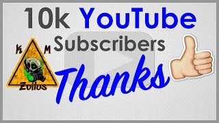 10K subs!!  thanks! some words of appreciation :)   ... and YT needs to get their %&^* together!