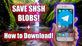 Tutorial: How To Save Shsh Blobs And Download Them!