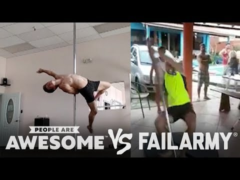 Pole Fitness, Golf & More   People Are Awesome vs. FailArmy