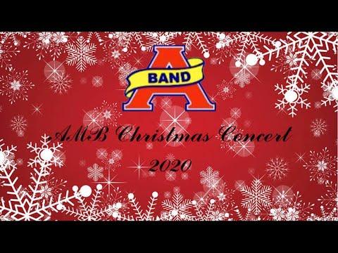Atascocita High School Band (AMB) Christmas Concert 2020 | FULL BAND PERFORMANCE