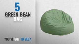Top 10 Green Bean Bag [2018]: Flash Furniture Small Solid Green Kids Bean Bag Chair
