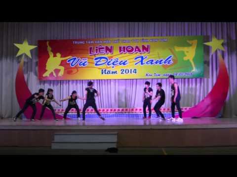 Hiphop Kon Tum : giải nhất showcase vũ điệu xanh 2014 ( Let