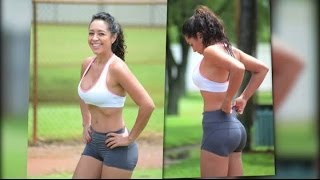 Andrea Calle Has a Sexy Workout in Miami | Splash News TV | Splash News TV