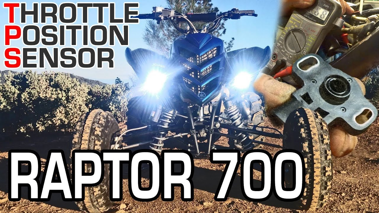 Raptor 700 Tps Throttle Position Sensor Test Replace Install And Bypass The Thermal Switch Yamaha Grizzly Atv Forum Calibrate