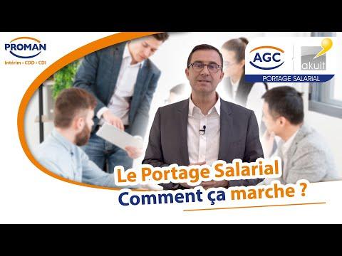 Le Portage Salarial - Comment ça marche ? - PROMAN - AGC - AKUIT