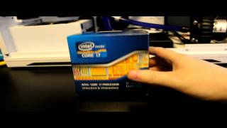 Intel i7 Ivy Bridge 3770k Unboxing || PlusCustomPCs
