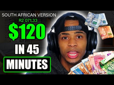 🤑💰 How To Make Money Online In South Africa Earn $120 in 45 minutes! With Respondent 2020🤑💰