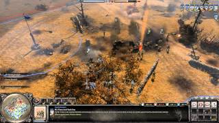 Company of Heroes 2 Gameplay: Airborne Tactics | 2v2 on Moscow Outskirts