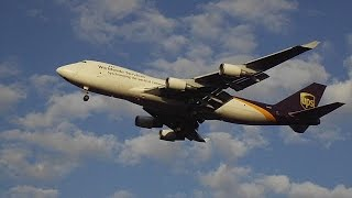 UPS (United Parcel Service) Boeing 747-4R7F(SCD) [N582UP] Landing at Cologne-Bonn CGN EDDK