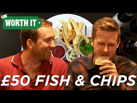 £4 Fish And Chips Vs. £50 Fish And Chips
