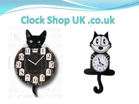 The Popular Novelty Kit Cat Clocks Youtube