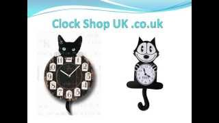 The Popular Novelty Kit Cat Clocks