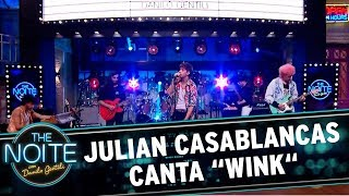 "Video Julian Casablancas canta ""Wink"" 